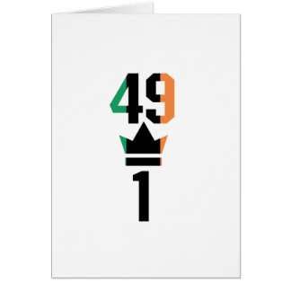 Boxing Fans Gift For Boxing Irish Mma Boxing Funny Card