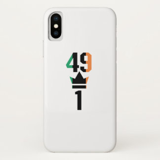Boxing Fans Gift For Boxing Irish Mma Boxing Funny iPhone X Case