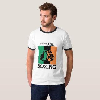 Boxing Fans Gift For Boxing Irish Mma Boxing T-Shirt