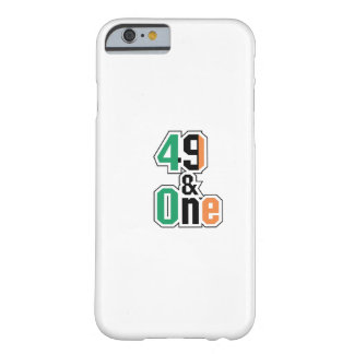 Boxing Fans Irish Forty-Nine And One (49 And 1) Barely There iPhone 6 Case