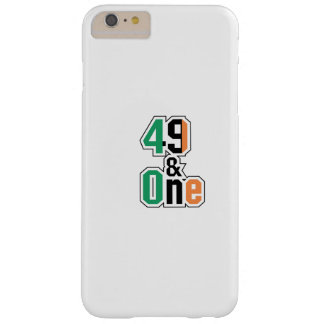 Boxing Fans Irish Forty-Nine And One (49 And 1) Barely There iPhone 6 Plus Case