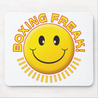 Boxing Freak Smile Mousepad
