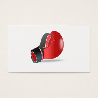 Boxing Glove Business Card