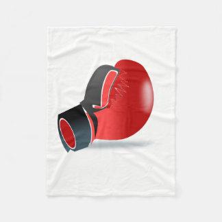 Boxing Glove Fleece Blanket