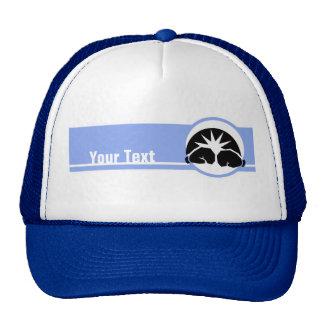 Boxing Gloves blue Mesh Hats