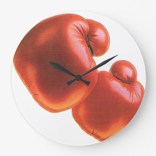 Boxing Gloves Clock