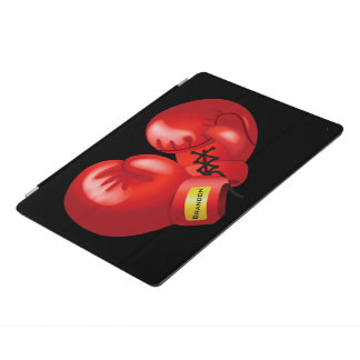Boxing Gloves Design iPad Cover