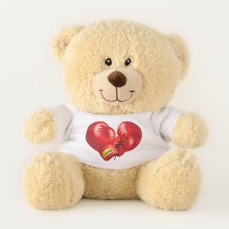 Boxing Gloves Design Teddy Bear