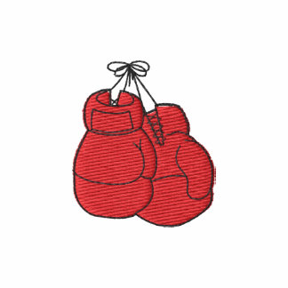 Boxing Gloves Embroidered Shirts