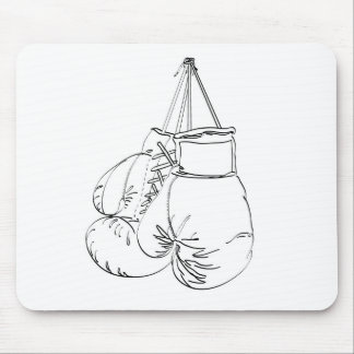 Boxing Gloves II Mouse Pad