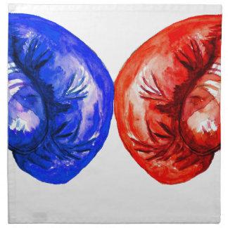Boxing Gloves Napkin