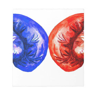 Boxing Gloves Notepad