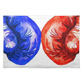 Boxing Gloves Placemat