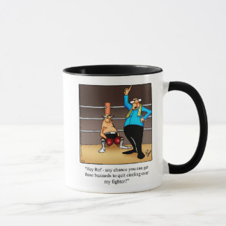 Boxing Humor Mug Gift