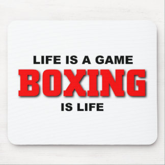 Boxing is life mousepads