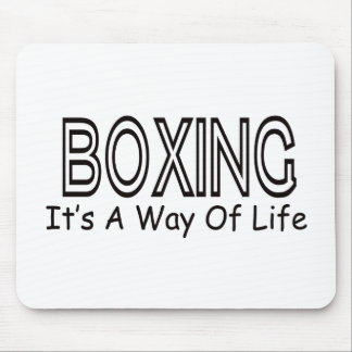Boxing It s A Way Of Life Mousepad