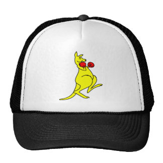 Boxing Kangaroo Cap