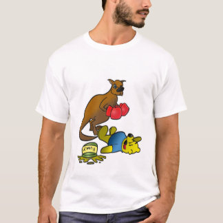 Boxing Kangaroo (Clean) T-Shirt