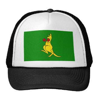 """Boxing kangaroo collector item""""s cap"""
