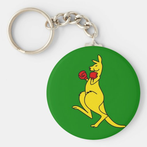 "Boxing kangaroo collector item""s keychains"