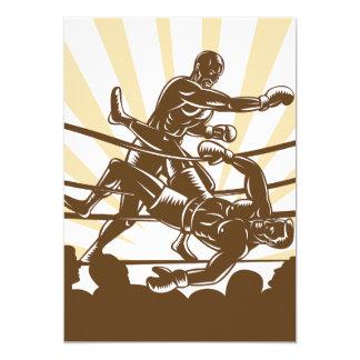 Boxing Match Invitations