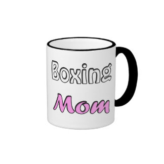 Boxing Mom Ringer Mug