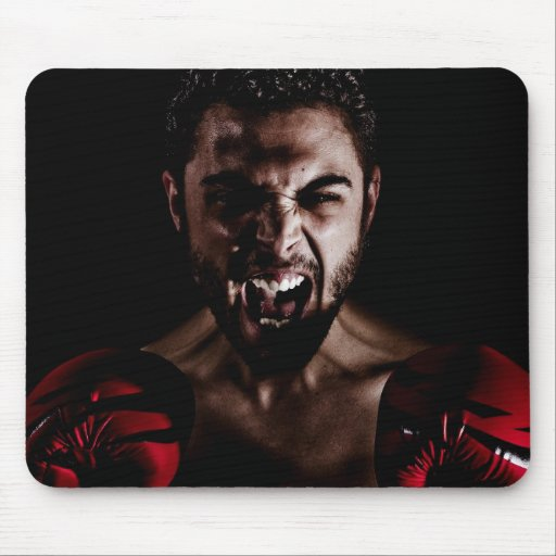 boxing mouse pad