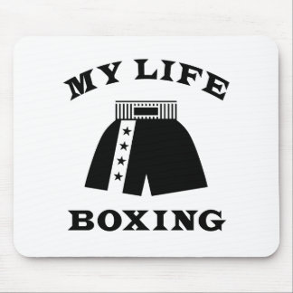Boxing My Life Mouse Pad