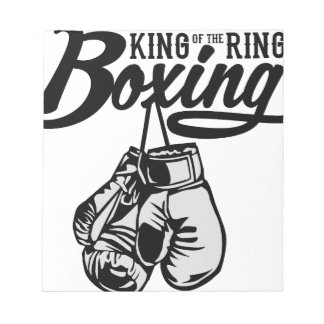 boxing notepad