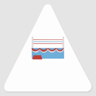 Boxing Ring Triangle Sticker