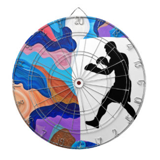 Boxing Rooster Dartboard