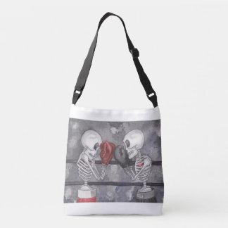Boxing Skeleton Cross Over Bag