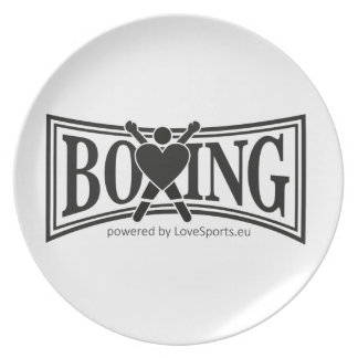 Boxing-style Plate