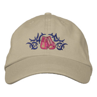 Boxing Tribal Embroidered Hat