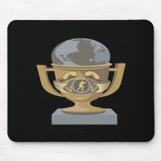 Boxing Trophy Mouse Pads