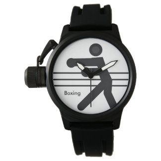 BOXING   white and black icon Watch