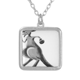 Boxroo1 Silver Plated Necklace