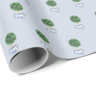 Boxwood Topiary 2 by Redux121DesignStudio Wrapping Paper