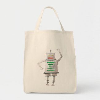 Boxy Bot Grocery Tote