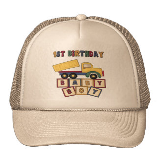 Boy 1st Birthday Cap