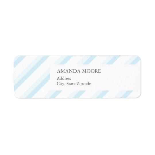 Boy Address Label