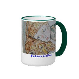 Boy and Dog Mug