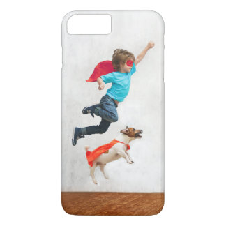 Boy and Dog Superheroes iPhone 8 Plus/7 Plus Case