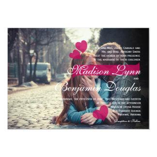 boy and girl kissing love/Wedding Invitation
