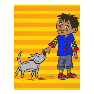 Boy And His Dog 21.5 Cm X 28 Cm Flyer