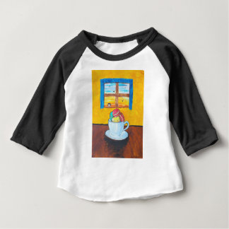 Boy and the Macaroons Baby T-Shirt