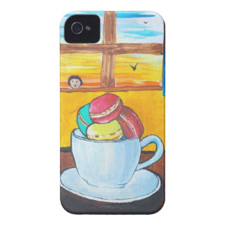 Boy and the Macaroons iPhone 4 Covers