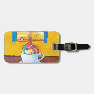 Boy and the Macaroons Luggage Tag