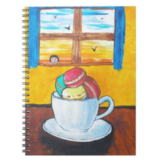Boy and the Macaroons Notebook