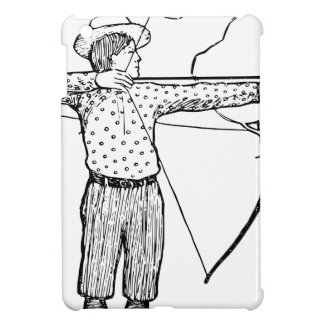Boy Archer Illustration iPad Mini Case